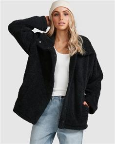 Billabong Cozy Days Jacket, Black