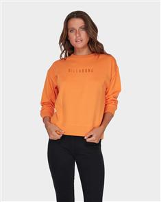 Billabong Vital Crew Fleece, Orange
