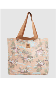 Billabong NALU SHOPPER TOTE, PEACH