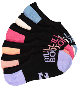 Billabong Surf Invisible Womens Socks 1 Pair