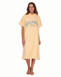 Billabong Early Brights Hooded Towel, Sundream
