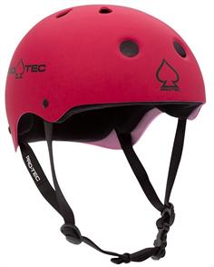 Pro-Tec Classic Fit Certified Junior Helmet, Matte Pink