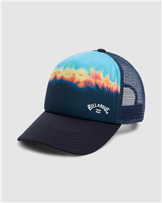 Billabong BOYS RANGE TRUCKER HEADWEAR, ACID BLUE