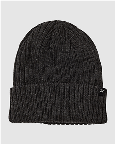 Billabong ARCADE BEANIE, BLACK HEATHER
