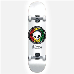 Blind Rasta Reaper First Push Skate Compete, White