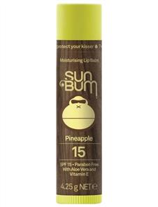 Sunbum SPF15 Lip Balm, Pineapple