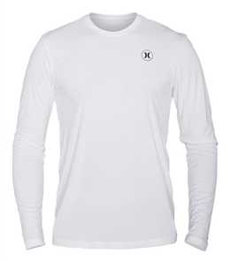 Hurley Dri-Fit Icon Long Sleeve Rash Vest 10A