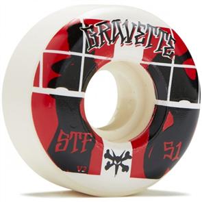 Bones STF Gravette Peeps V2 Wheels, Size 51mm