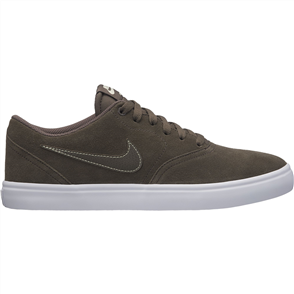 Nike Mens SB Check Solarsoft Skateboarding Shoe, Ridgerrock