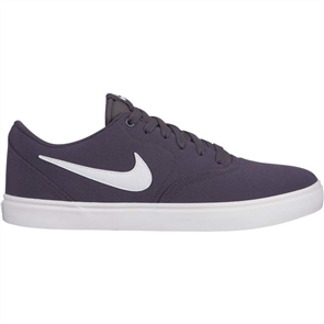 Nike Mens SB Check Solar Canvas Show, Thunder Grey/ Summit White