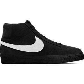 Nike SB ZOOM BLAZER MID SHOE, BLACK/WHITE-BLACK-BLACK