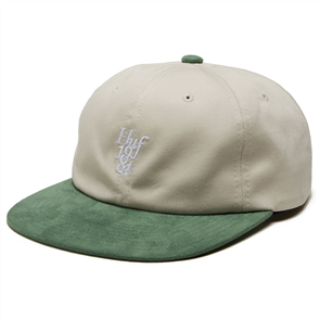 HUF 1984 CONTRAST 6 PANEL HAT, OYSTER WHITE
