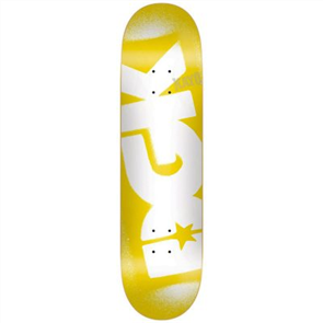 DGK Price Point Yellow Deck 8.25