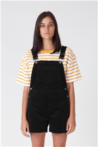 RPM Cord Dungaree, Black