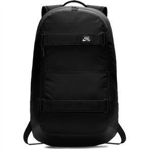 Nike SB COURTHOUSE BACKPACK, BLACK/ WHITE