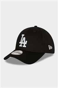 NewEra 940 Los Angeles Dodgers CAP, BLACK/WHITE