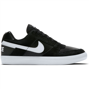 Nike SB Delta Force Vulc Skateboarding Shoe, Black White Anthracite White