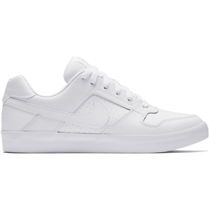 Nike SB Delta Force Vulc Skateboarding Shoe, White