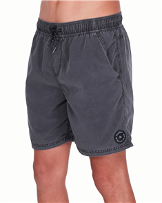 Billabong All Day Overdye Layback Boardshorts, Black