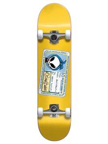 Blind Old Boney Bastard FP Skate Complete, Yellow
