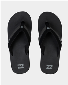 Billabong All Day Impact Jandal, Black