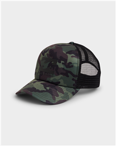 Billabong PODIUM TRUCKER TRUCKER CAP, DARK CAMO
