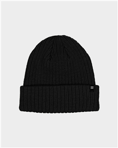 Billabong Arcade Solid Beanie, Black