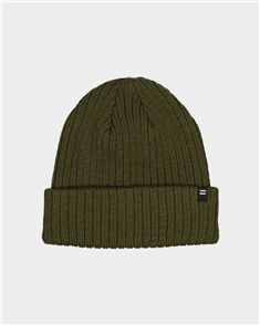 Billabong Arcade Solid Beanie, Military