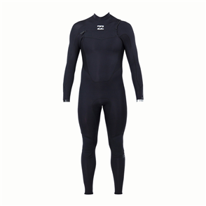 Billabong Absolute Comp 3/2mm Full Chest Zip, Black