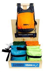 Moana Rd Foldable Back Pack - Blue