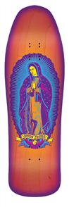 """Santa Cruz Jessee Guadalupe Neon Sunburst Reissue Deck Size 9.9"""""""