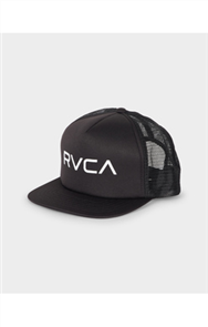 RVCA THE RVCA TRUCKER CAP, BLACK