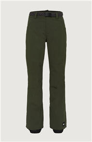 Oneill WOMENS STAR PANTS, MILITARY GREEN