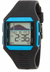 Rip Curl Rifles Midsize Tide Watch, Blue Black