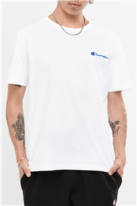Champion HERITAGE SHORT SLEEVE TEE, WHITE
