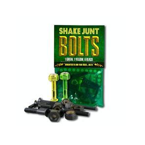 Shake Junt JUNT HARDWARE 7/8 ALLEN BLK/GRN/YELLOW