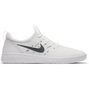 Nike Nyjah Free Skateboarding Shoe, White Lemon Wash