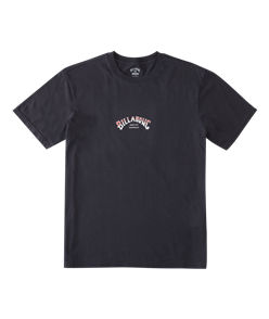 Billabong CORE ARCH SS WW TEE, WASHED BLACK