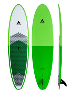 Adventure Paddle Allrounder Molded Epoxy SUP, Green Green