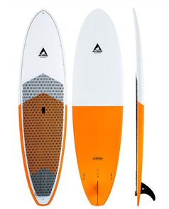 Adventure Paddle Allrounder Molded Epoxy SUP, Orange White