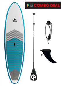 Adventure Paddle Allrounder Molded Epoxy SUP, Blue Blue