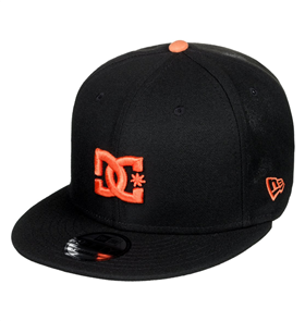 DC Mens Empire Refresh Snapback Cap, Black Iris