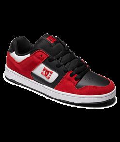 DC MANTECA 4 S SHOE, RED/BLACK/WHITE