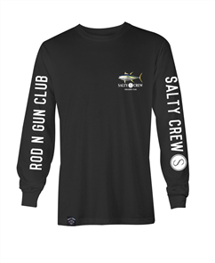 Salty Crew Ahi Long Sleeve T-Shirt, Black