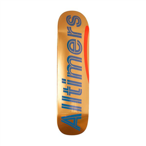 Alltimers MULTI ALT- Shiny Oranges Logo Deck, Size 8.3
