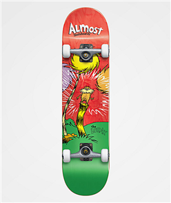 Almost Lorax Premium 8.0 Skate Complete, Red