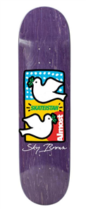 Almost Skateistan Double Doves R7 Deck, 8.0