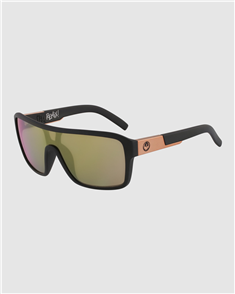 Dragon REMIX LL ION 60 SUNGLASSES, MATTE BLACK/ ROSE GOLD ION