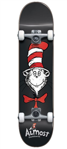 Almost Cat Face First Push Complete  Skateboard