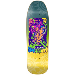 "New Deal ANDREW MORRISON LOVERS HT 9.5"" REISSUE SKATEBOARD DECK"
